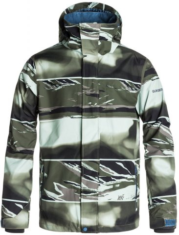 Quiksilver Mission Print Jacket Review