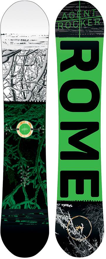 Rome Agent Rocker 2016-2010 Snowboard Review