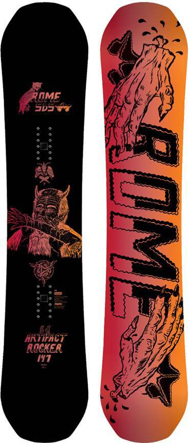 5b9eff8429b Rome Artifact Rocker Snowboard Review   Buyers Guide