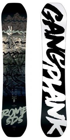 Rome Gang Plank Snowboard Review and Buying Advice