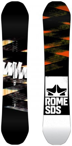 Rome Mod Rocker 2016-2012 Snowboard Review