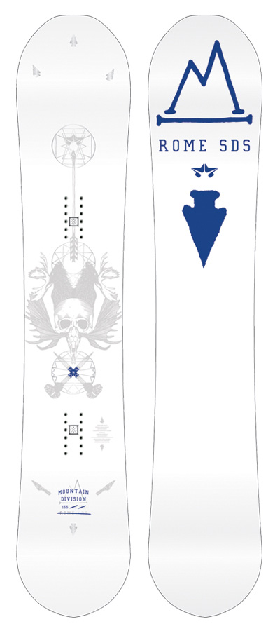 12cd640ff7db Rome Mountain Division Snowboard Review