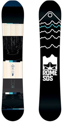 Rome Mountain Division Snowboard Review
