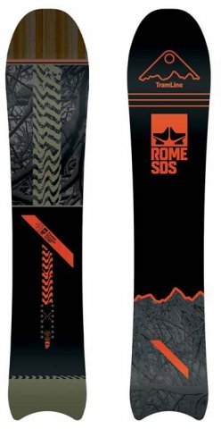Rome Powder Division MT 2017 Snowboard Review