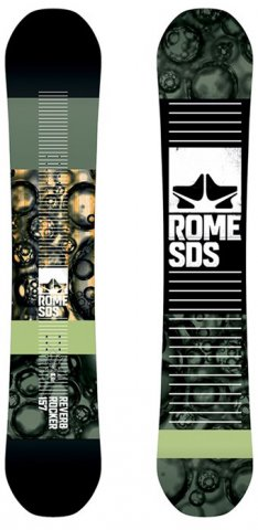 Rome Reverb Rocker 2016-2012 Snowboard Review