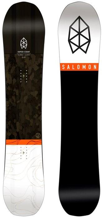 Salomon Super 8 2016 2019 Snowboard Review