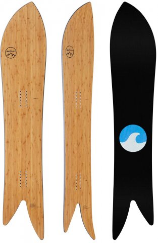 Snoplanks Asym Fish 2020 Snowboard Review