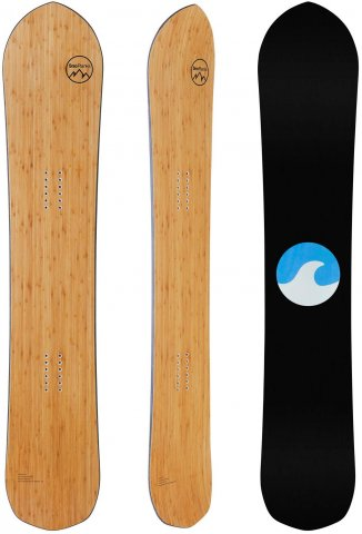 SnoPlanks Model A 2020 Snowboard Review