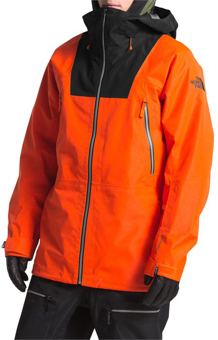 north face dryzzle jacke test