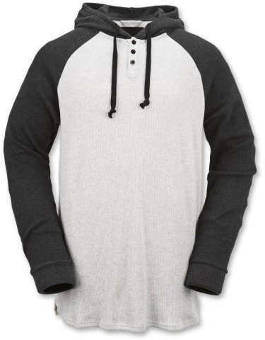 Volcom 3 Button Henley Mid Layer Hoodie Review
